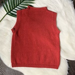 Woolrich funnel neck sleeveless sweater